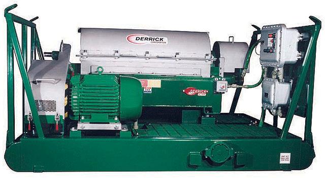 Derrick™ Centrifuge Repair