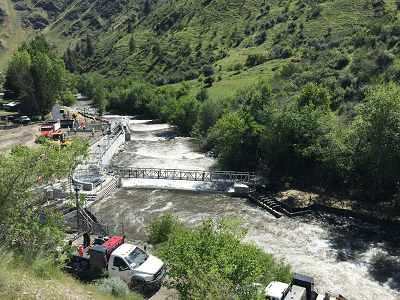 Rapid River site overview