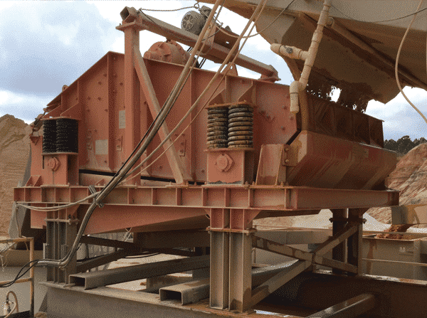 Reverse Incline Vibrating Screen