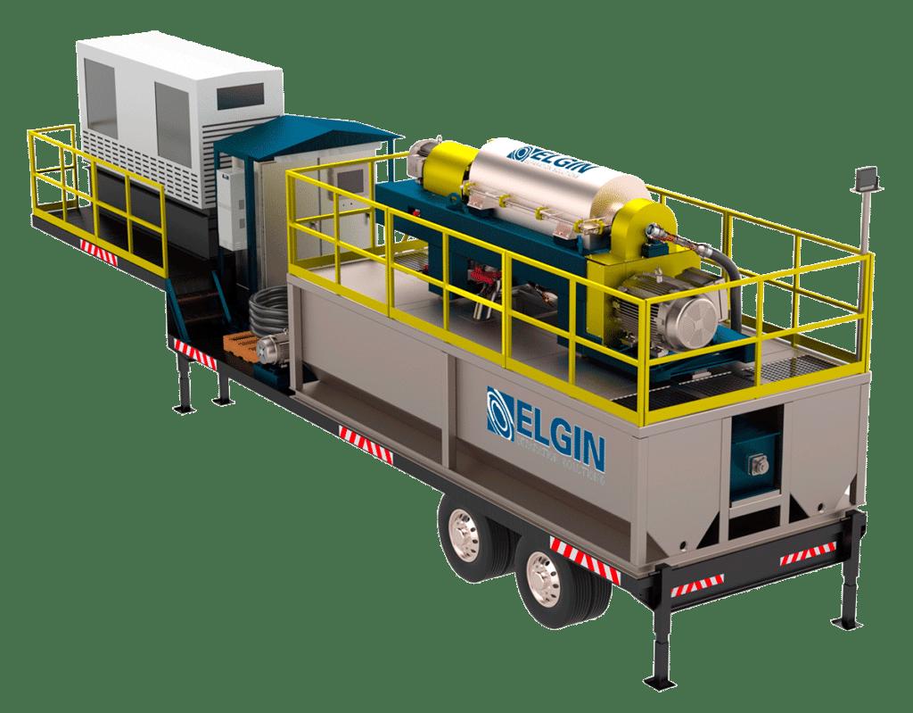Mobile Centrifuge System